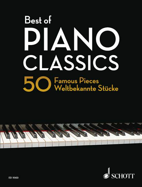 Best of Piano Classics 50 Famous Pieces for Piano Paperback piano 979000119112